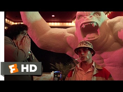 Fear and Loathing in Las Vegas 410 Movie CLIP  Devil Ether 1998 HD