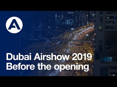 #DubaiAirshow 2019: Before the opening