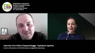 Interview de Bertrand Alesch, agriculteur