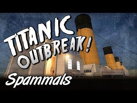 Titanic Outbreak! (L4D2 Custom Campaign w/ GameHog & Luke & James Play)
