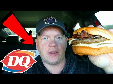 Dairy Queen Flamethrower GrillBurger 2019 (Reed Reviews)