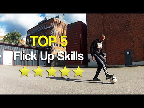 TOP 5: Amazing Ways To Flick Up a Football - Can you do them all?