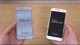 Samsung Galaxy A5 2017 vs Galaxy S6 - Speed Test!