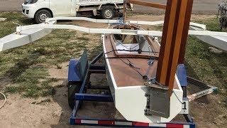 Building stages Trika 540-2 trimaran - O-Vives