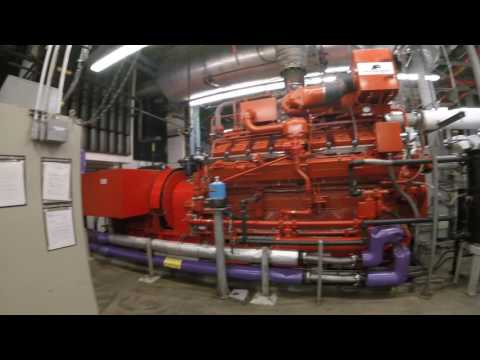 Natural Gas Power Plant (Engine Room and Electrical Room)