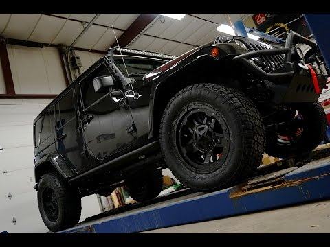 RealView - Lifted 2017 Jeep Wrangler w/ 20