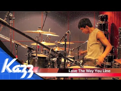 Love The Way You Lie - A Skylit Drive - KAZZofficial(Drums Cover)