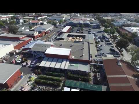 Arial View Of Santa Barbara Home Improvement Center Youtube
