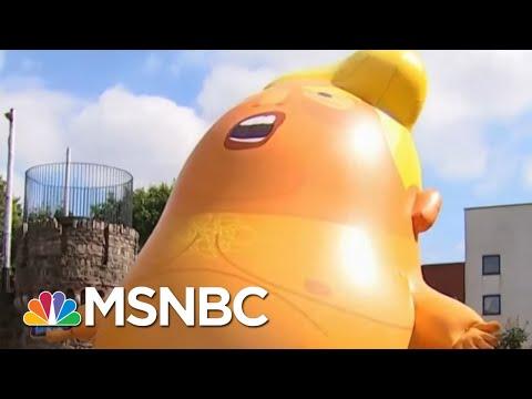 President Trump Talks Baby Blimp, Criticizes British PM In New Interview | The Last Word | MSNBC