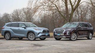 2020 Hyundai Palisade Vs. 2020 Toyota Highlander — Cars.com