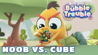 Angry Birds Bubble Trouble Ep.3 | Noob vs. Cube