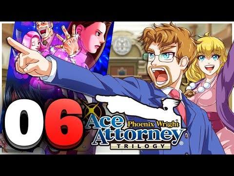 Phoenix Wright: Ace Attorney Trilogy HD Part 6 Turnabout Sisters Last Trial (Switch)