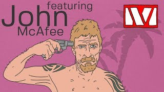 John McAfee interview and privacy coin discussion. Privacy vs anonymity.