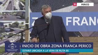 EN VIVO | Inauguración de Obra Zona Franca Perico