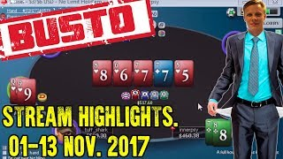Confirmed busto!? 1-13 Nov 2017 Stream Highlights.