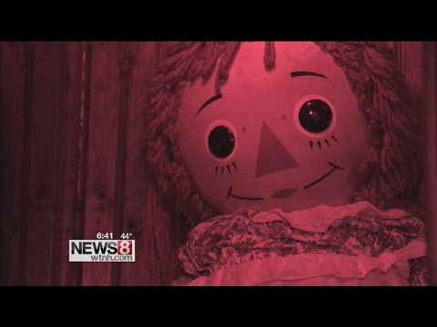 "Cruisin' Connecticut – Demonic, Annabelle Doll at ""The Warren's"" in Monroe"