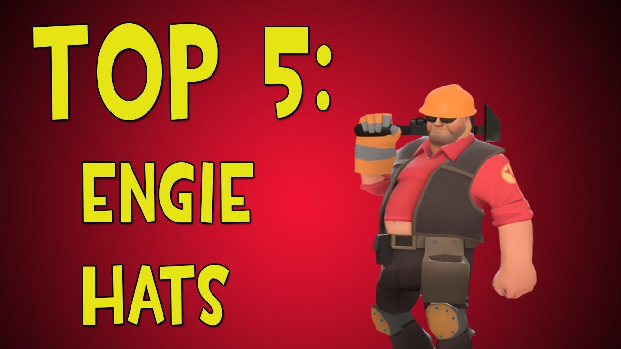 tf2 top 5 engineer hats youtube