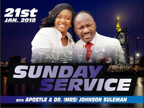 Sunday 21st Jan. Service 2018 LIVE