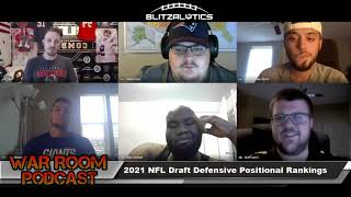 Pre Draft Show   2021 NFL Draft   Blitzalytics Scouting