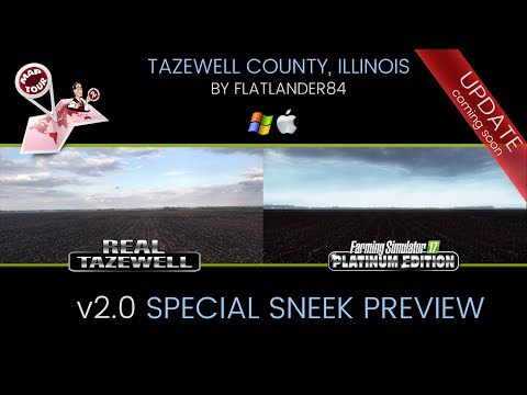 ᴴᴰ TAZEWELL County- v2.0 Special Early Preview-FS17