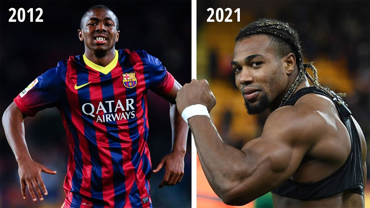 Adama Traore Body Transformation 2012 2020 Hd Youtube