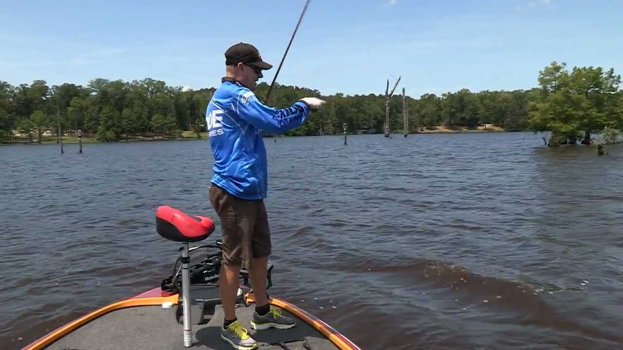 D 39 arbonne lake la bass fishing sneak peek video preview for Bass fishing louisiana