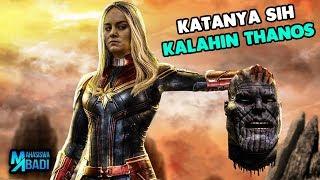 Takut Thanos ?!? Inilah Alasan Kenapa Captain Marvel Dibilang Gak Berguna di Film Avengers Endgame