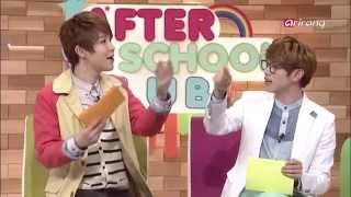 """After School Club - Ep02C05 Heo Young-saeng """"The Art of seduction"""" , M.I.B """"Nod along"""""""