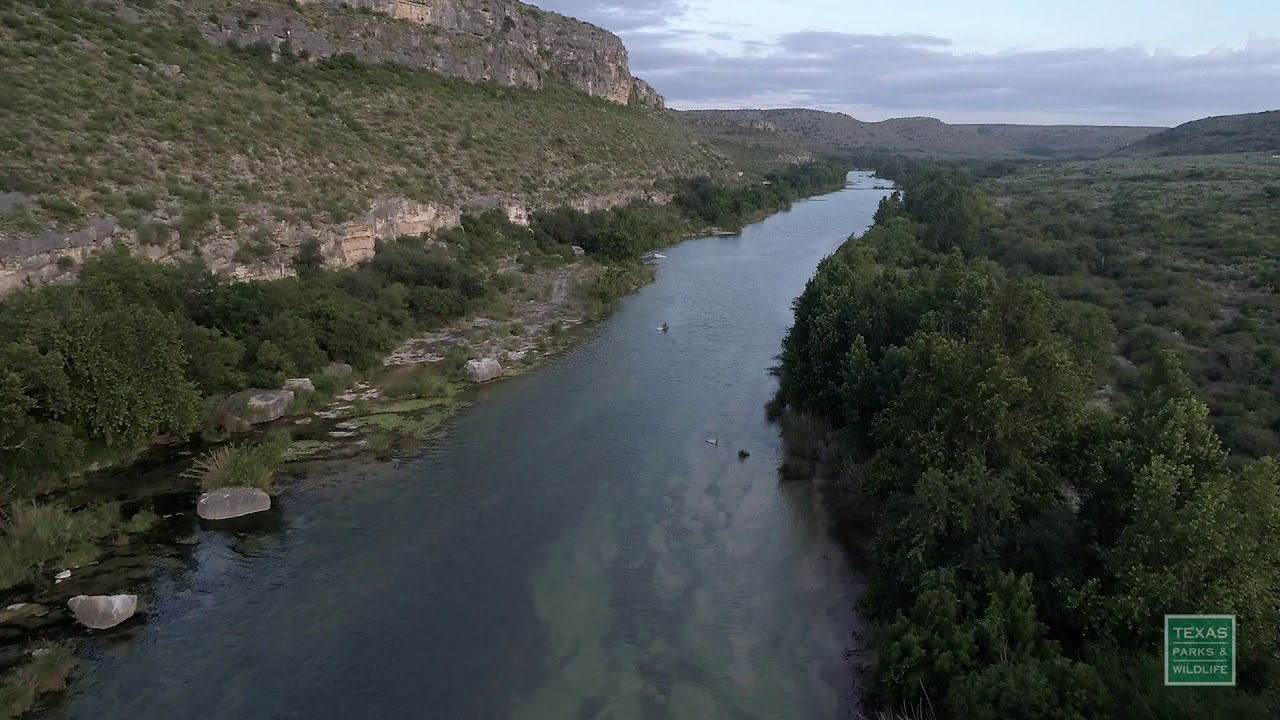 Devils River State Natural Area Aerials - Postcard From Texas