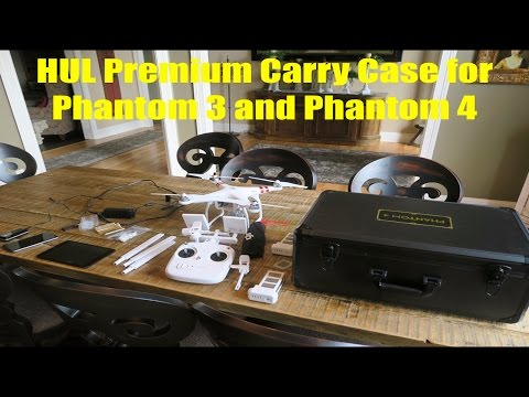 Hul Carry Case for Phantom 3 and 4 Review