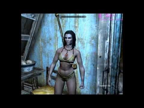Skyrim: Как раздеть Лидию, без модов и чит кодов