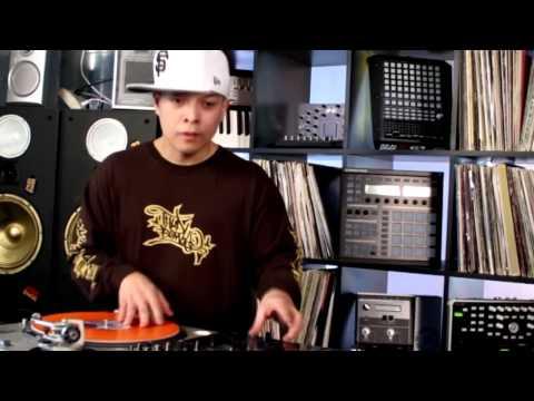 DJ Qbert and Ean Golden session