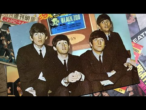 ♫ The Beatles backstage at the Lincoln ABC, 1963 /photos