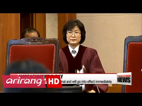 Korea's Constitutional Court set to reveal impeachment ruling on President Park