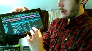 Full DJ Interface on Surface Pro
