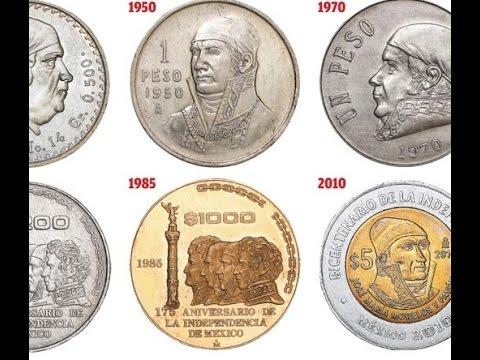 Valor Numismatico Monedas Mexicanas