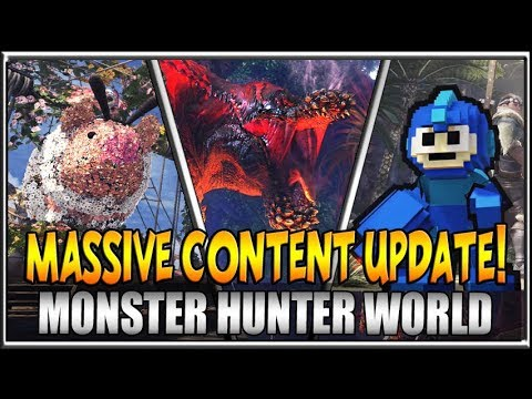 WOW! Monster Hunter World Deviljho Content Update and Spring Blossom Fest Events!