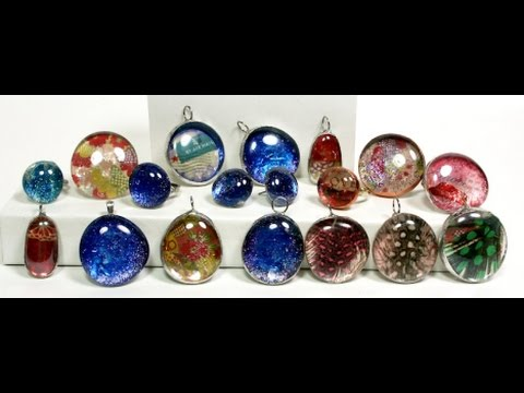 Easy glass jewelry papermart youtube for Glass jewels for crafts