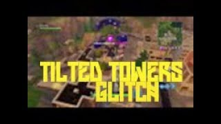 TILTED TOWERS GLITCH SPOT ON FORTNITE BATTLE ROYALE