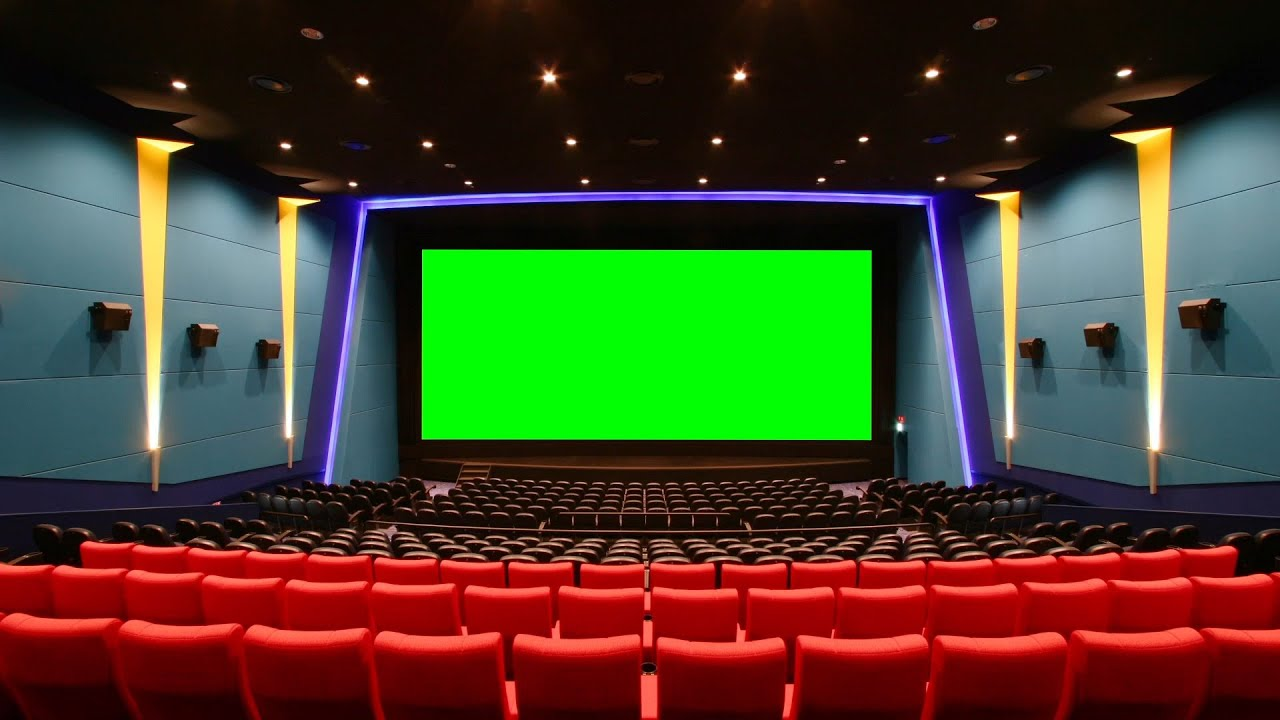 Green Screen Cinema Hall Movie House Footage Pixelboom Youtube