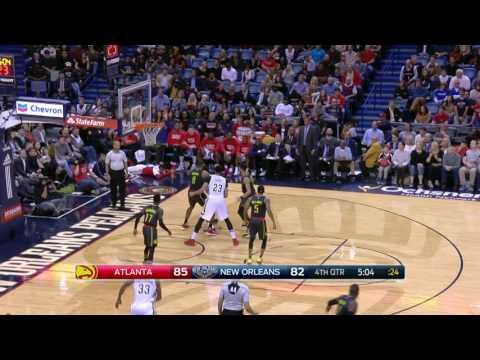 Atlanta Hawks at New Orleans Pelicans- January 5, 2017
