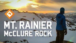 Snow Camping Washington - Mt Rainier, McClure Rock