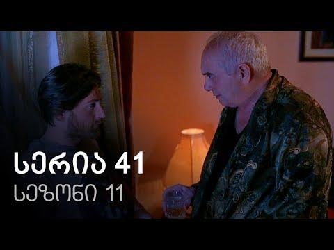 Cemi colis daqalebi - seria 41 (sezoni 11)