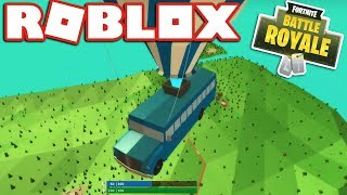 Playing the New ROBLOX FORTNITE!! - (Island Royale)