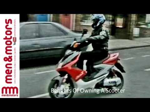 Benefits Of Owning A Scooter