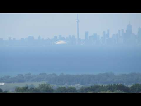 Toronto skyline as seen from Niagara Falls