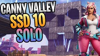 FORTNITE - Canny Valley SSD 10 Solo Without Using Weapons, Abiities, Or Gadgets