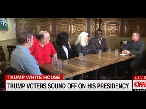 CNN Interviews Ohio DEMOCRAT Trump Voters One Year Later -- Gets Stunned by Answers