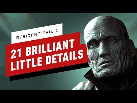 21 Brilliant Little Details In Resident Evil 2