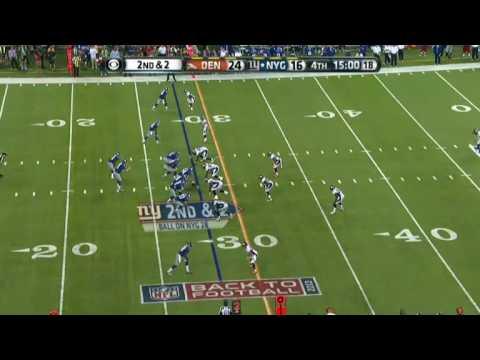 Chris Harris Jr. makes 2 improbable interceptions